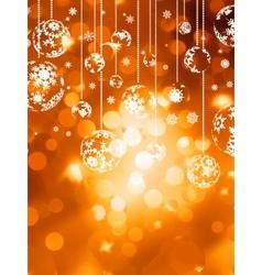 Abstract christmas with snowflake EPS 10 vector image