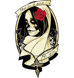 Lady death vector