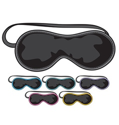 Sleep mask vector image vector image
