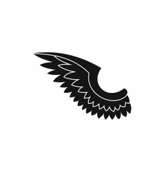 Wing icon in simple style vector image vector image