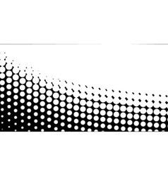 Diagonal B and W Half Tone vector image