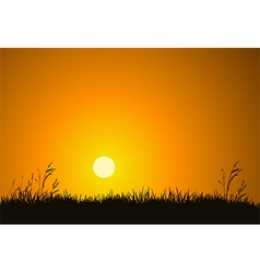 Morning Sunrise vector image