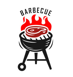 bbq grill vector image