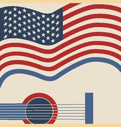 American country music poster vector