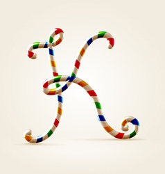 Circus wire plastic abc vector image
