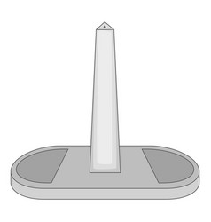 obelisco of buenos aires argentina icon vector image