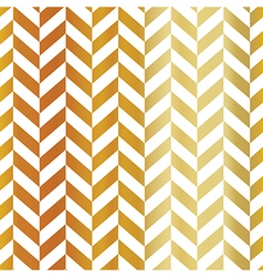 Gold chevron seamless pattern Golden gradient vector image