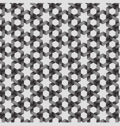 Abstract dotted geometric pattern vector