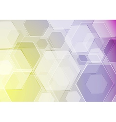 Hi-tech template vector image