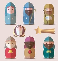 Nativity christian vector