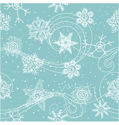 christmas wallpaper vector image vector image