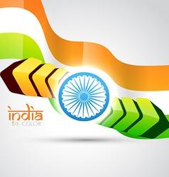 Indian flag flag vector