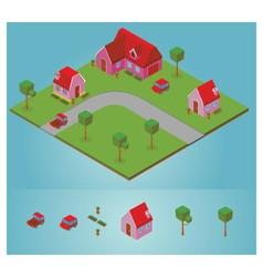 Isometric neighborhood vector