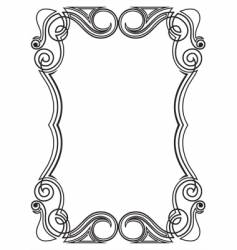 pattern for design frame vector image vector image