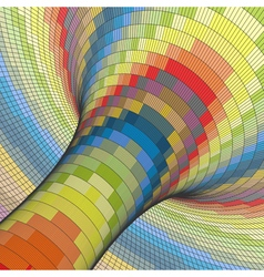 Colorful Mosaic Background Polygonal vector image