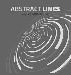 absract lines vector image