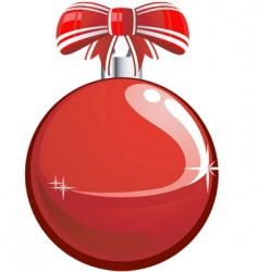bauble vector image vector image