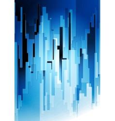 Dark blue tech art design vector