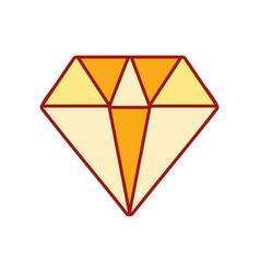 Diamond gem and crysral accesory vector