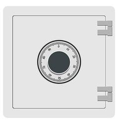 Metal safe icon vector image vector image