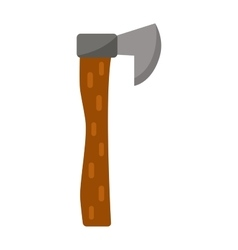 Axe lumberjack isolated icon vector image