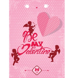 be my valentine 380 vector image