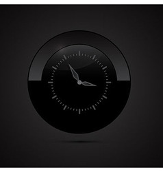 Black Clock vector image