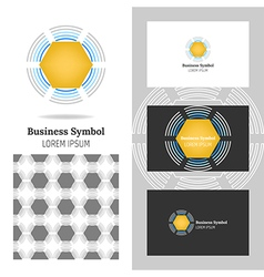 Business logo for company vector