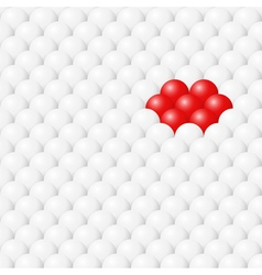 Ball seamless background vector