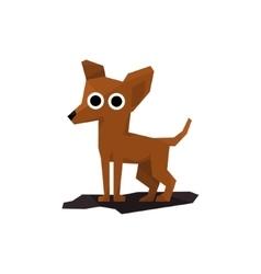 Chihuahua miniature dog vector