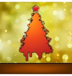 Christmas card template eps 8 vector