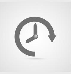 Time icon vector