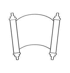 traditional torah iocn vector image
