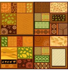 ethnic backgrounds vector image