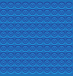 Abstract blue background circles volume vector