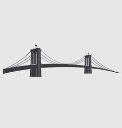 brooklyn grey3 vector image