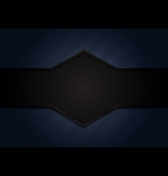 Abstract dark blue background with black space for vector image