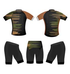 Sports colors t-shirt vector
