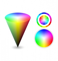 Color cone vector
