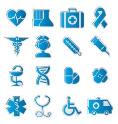 Medicine icons vecior3 vector image vector image