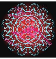 Oriental mandala motif - what is karma vector