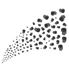 Stop hand source stream vector