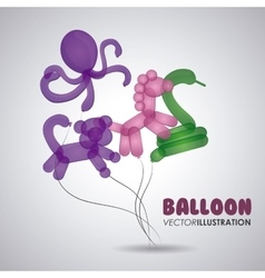 Balloon icon design vector