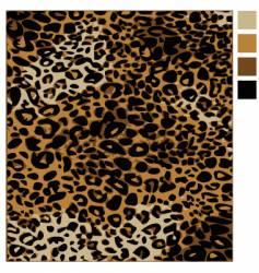 leopard skin vector image