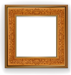 Retro frame vector