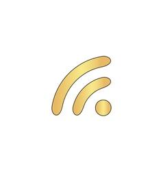Wifi zone computer symbol vector
