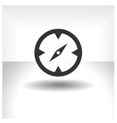 compass icon vector image