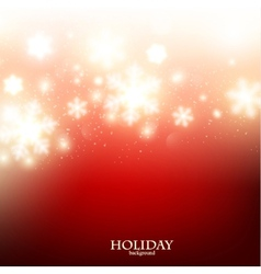 Elegant Christmas background with snowflakes vector image vector image