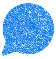 hint balloon grunge icon vector image vector image