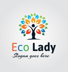Natural logo vector
